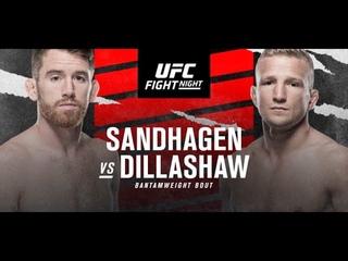 Кори Сандхаген против Ти Джея Диллашоу БОЙ В UFC 4/ UFC FIGHT NIGHT