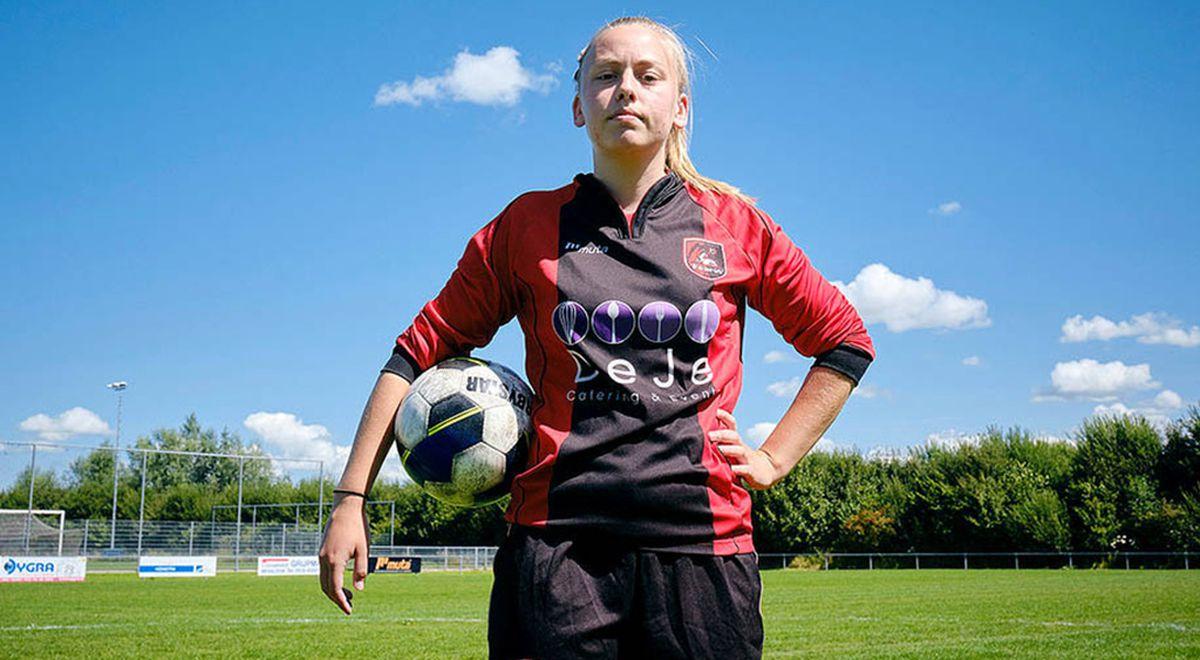 Эллен Фоккема. Первая девушка в мужской футбольной команде