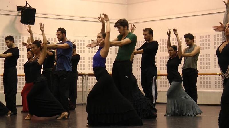 ANTONIO NAJARRO Ensayos Ballet Nacional de España