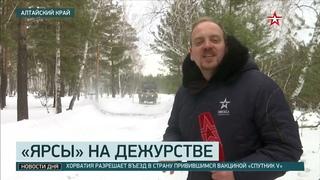 Как спрятать «Ярс»: кадры учений РВСН в Алтайском крае