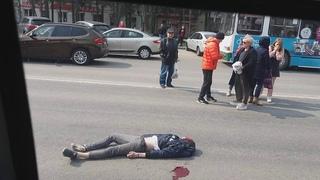 Тула.дтп с пешеходами.пр.ленина