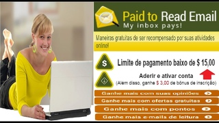 Paid-To-Read-Email | Pago Para Ler Email | $3,00 no cadastro | Pagamento mínimo $15,00 | Home Office