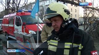 В Архангельске устанавливают причину пожара в общежитии на улице Гагарина