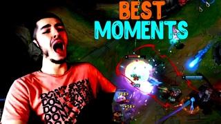 Лучшие Моменты League of Legends | BEST MOMENTS | Сладкий TeamleSS | horror_in_dark Хитовая Песня
