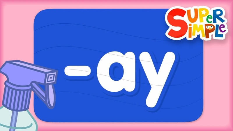 Word Family ay Turn Learn ABCs Super Simple ABCs
