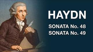 Haydn – Sonata No. 48, Sonata No. 49   grand piano + digital orchestra