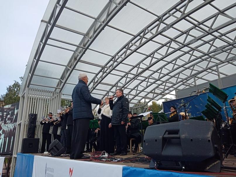 Вологодский «Оркестр Победы» продолжает выступать в городах воинской славы🎶