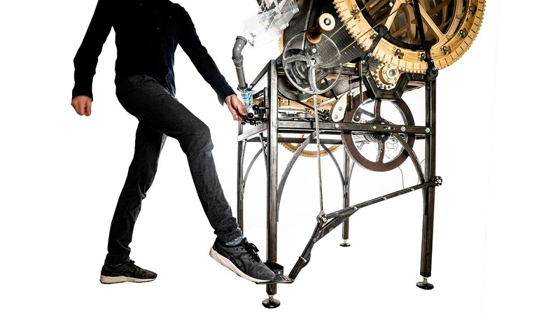 Treadle Pedal Completed Marble Machine X 81
