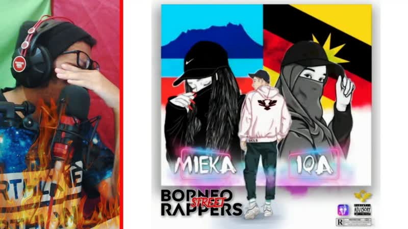 Uncle Sam x Mieka Luksin x Iqa Borneo Street Rappers BSR Let s Go!