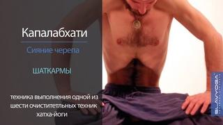 Капалабхати (сияние черепа) 🌞 Техника капалабхати для начинающих от Сергея Чернова ⭐ SLAVYOGA