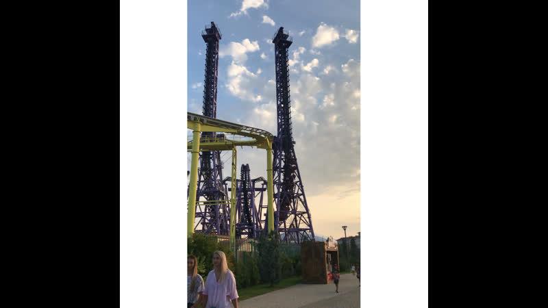 Аттракцион Квантовый скачок Олимпийский парк Сочи