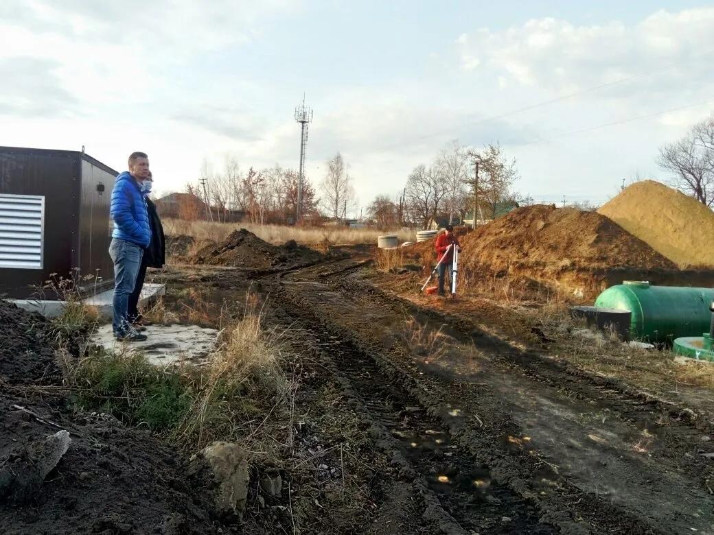 На водозаборе №1 Петровска проконтролирован ход строительства станции обезжелезивания
