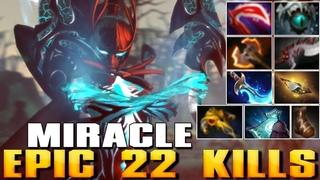 MIRACLE [Phantom Assassin] Epic 22 Kills | Best Pro MMR - Dota 2