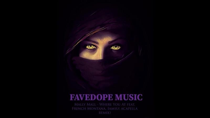 Mally Mall French Montana Iamsu Where you at FAVEDOPE acapella remix