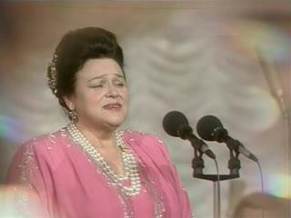 Людмила Зыкина - 1992 год авторский вечер Л.Ошанина песня:  Зачем меня окликнул ты
