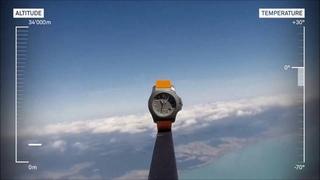 Victorinox . Titanium - TEST #094/130 - WEATHER BALLOON STRATOSPERIC FLIGHT | BoumanOnline