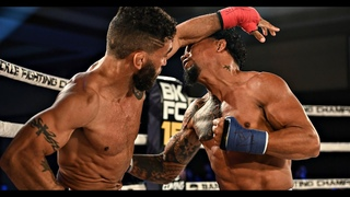 Undefeated Fighter Lands Vicious KO! Luis Palomino vs. Jim Alers
