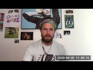 Stephen Amell, Lonie Paxton & Andrew Harding Live