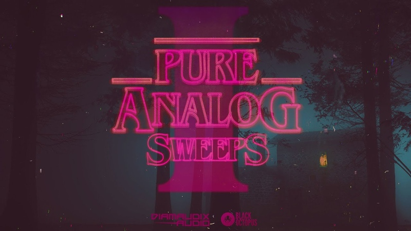 FX and Risers for Synthwave EDM and more Pure Analog Sweeps Vol 1