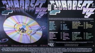 EUROBEAT - Volume 3 (90 Minute Non-Stop Dance Mix) 2LP 1987 Hi-NRG Italo Disco Synth Pop Dance 80s