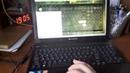 Проверка работоспособности новой клавиатуры на ноутбуке