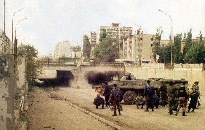 Мост Минутка, Грозный, Чечня