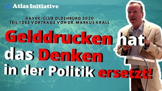 Dr. Markus Krall Bürgerliche Revolution: Gelddrucken ist nicht die Lösung, sondern unser Problem!