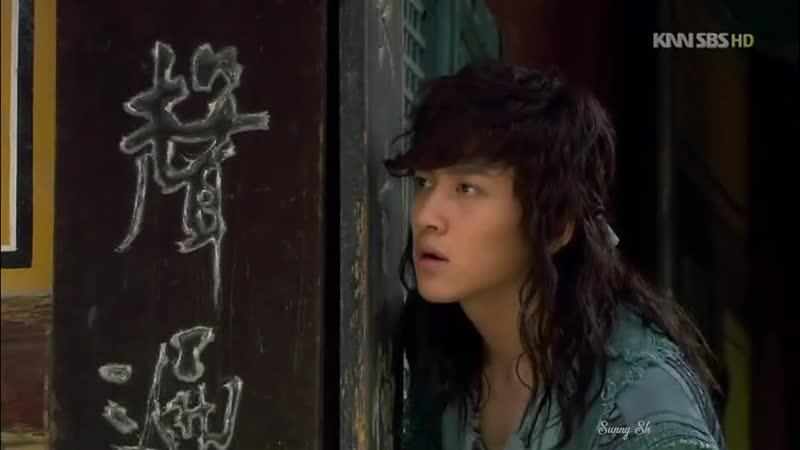 Клип из сериала Воин Пэк Тон Су