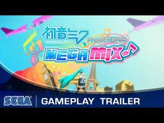 Hatsune Miku: Project DIVA Mega Mix - Геймплейный трейлер (Nintendo Switch)