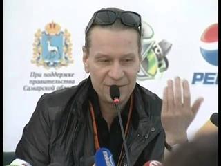 """Кипелов - пресс-конференция группы на фестивале """"Рок над Волгой"""" 2013 (полная версия)"""