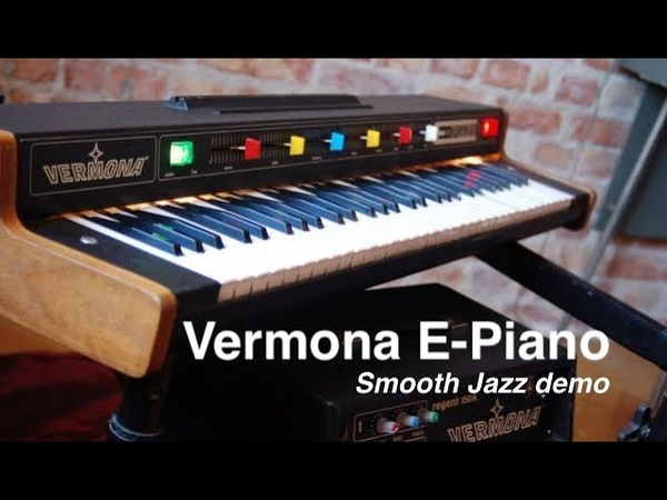 Vermona E Piano Smooth Jazz The Best demo