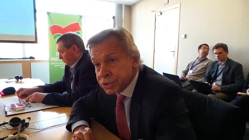 Олексій Пушков Оновлена офіційна позиція Росії стосовно примирення на Донбасі