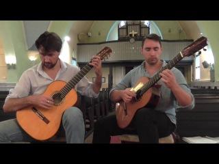 Vito Nicola Paradiso - Milonga, played by Draskóczy-Fülöp guitar duo
