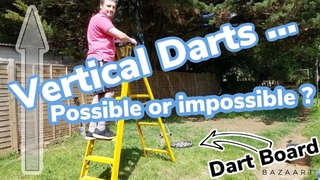 Can darts be vertical and horizontal?