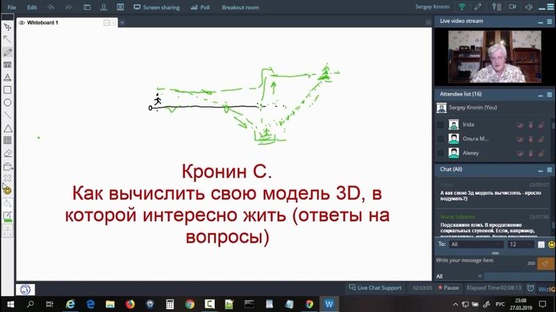Кронин С Как вычислить свою модель 3D в которой интересно жить ответы на вопросы