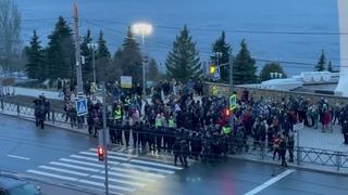 Не для ТВ. Митинг в поддержку Навального, Самара