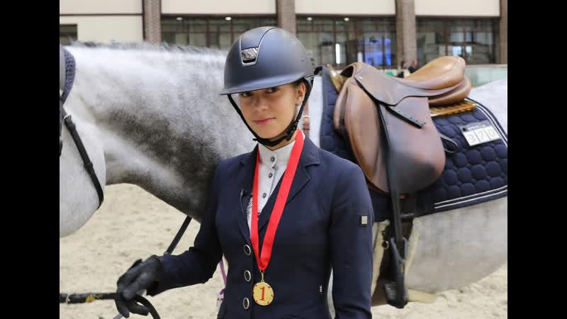Валерия Гинёва - победитель маршрута CSI J (125)