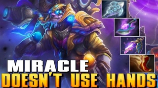 MIRACLE [Tinker] Doesn't Use Hands | Best Pro MMR - Dota 2