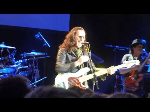 Geddy Lee The Seeker live at Shepherds Bush Empire London 11 11 14