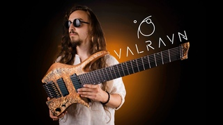 Valravn Headless 8-String Guitar [Playthrough] // Progressive Metal / Instrumental / Djent 2021