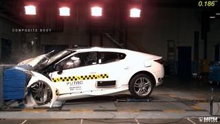 MPM Motors PS 160  Front Crash Test 2016