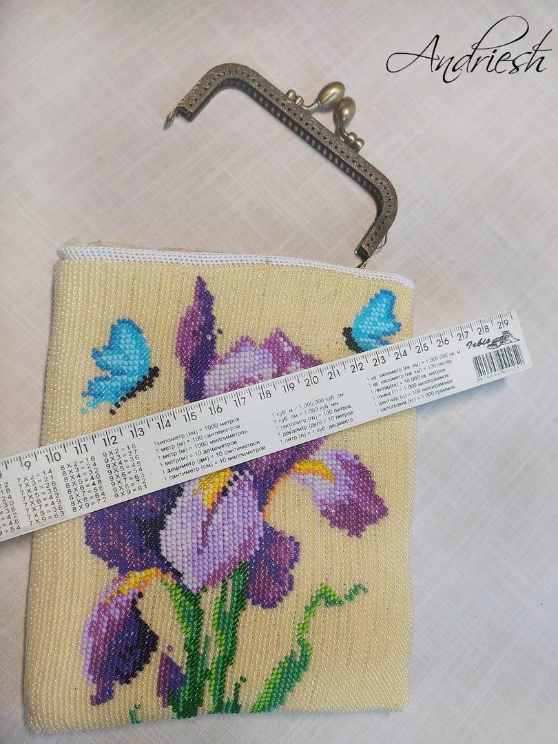 Как я сшиваю донышко и вшиваю в сумки подклад и фермуар., изображение №25