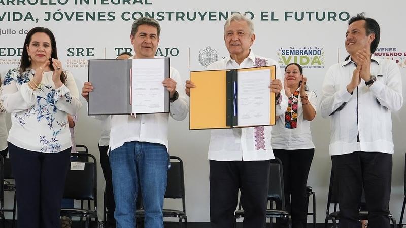 'Sembrando Vida', Plan de Desarrollo para la Migración, desde Minatitlán, Veracruz