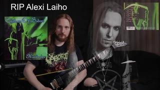 TRIBUTE TO ALEXI LAIHO | Children of Bodom - Hatebreeder (all solos from album) | Tuomas Laasanen
