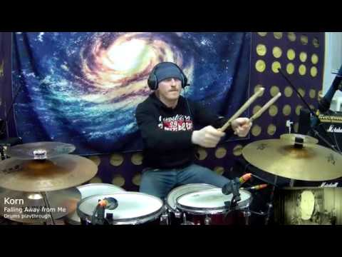 Korn tribute Falling Away from Me drum cover