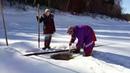 Жизнь в лесу рыбалка женщины знают своё дело Ч №1 Khanty Fishing women know their job Part № 1