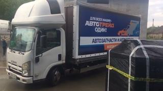Тент с рекламой на грузовик - изготовление