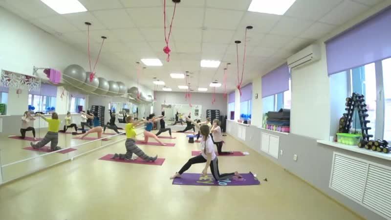 Йога. Фрагмент практики