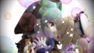 Kiss The Girl [Genshin Impact/MMD]