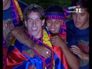 Season 2009/2010. Celebration Barca